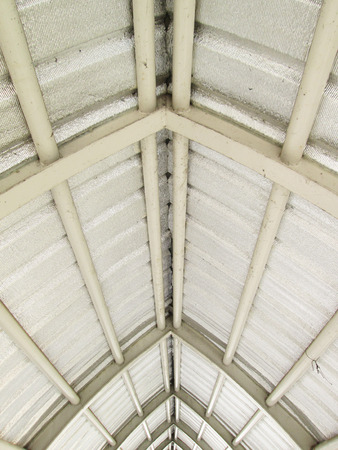 metal roof structure photo