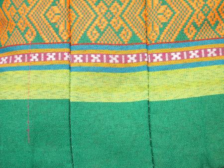 Thai style pillow texture photo