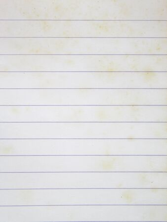 old notebook: isolate old notebook paper