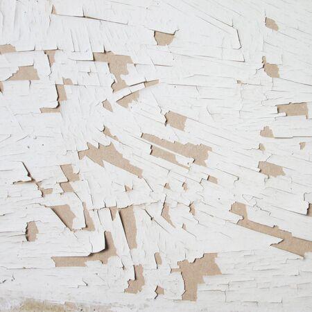 flaking: old gypsum sheets background Stock Photo