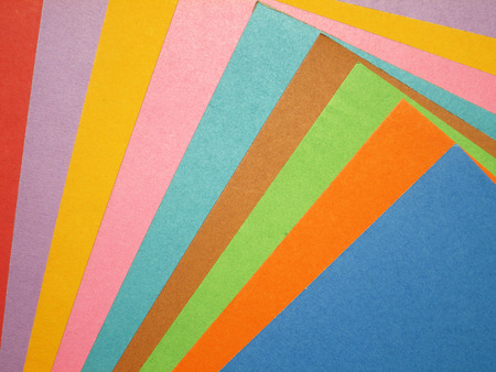 Colorful paper background photo