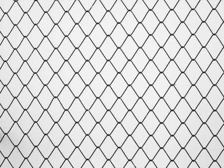 enclose: Decorative wire mesh Stock Photo