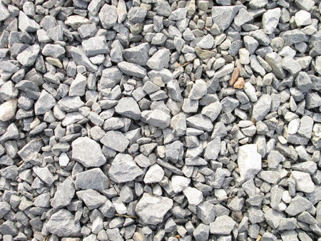 Granite gravel texture Stockfoto