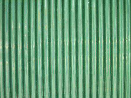 metal sheet: grunge metal fence . Green Galvanized Corrugated Sheet