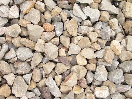 heterogeneous: Background of small granite stones Stock Photo