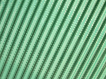 corrugation: grunge metal fence . Green Galvanized Corrugated Sheet