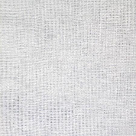 tela algodon: Primer plano de blanco estructura de la tela tejida
