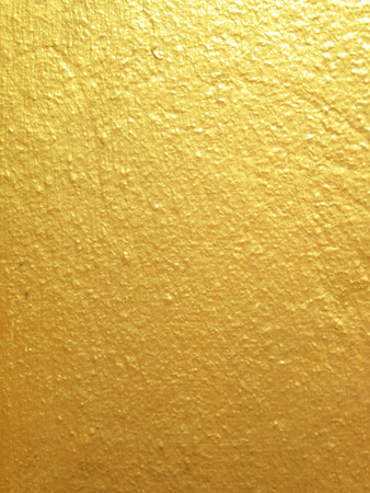 facing a wall: Facing wall yellow Stock Photo