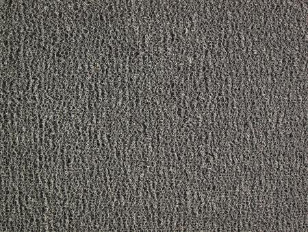 black carpet: Background of black carpet or foot scraper or door mat texture Stock Photo