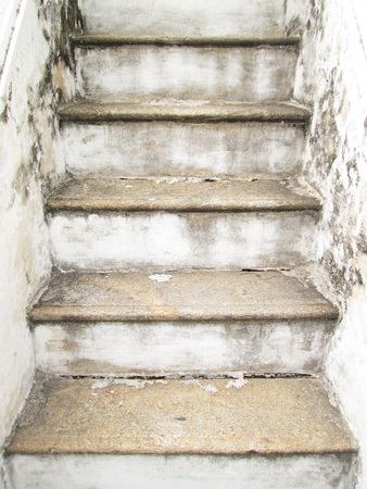fluting: Old stairs in the temple