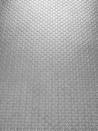 Texture of real metal diamond grip plate