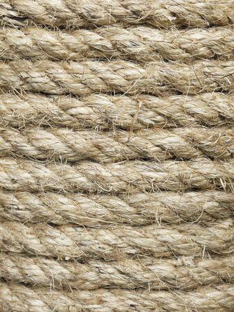 lashing: Rough rope background
