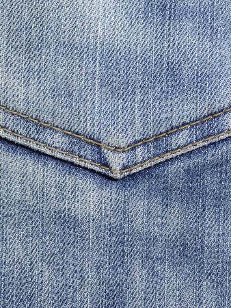 fib: blue jeans pocket closeup