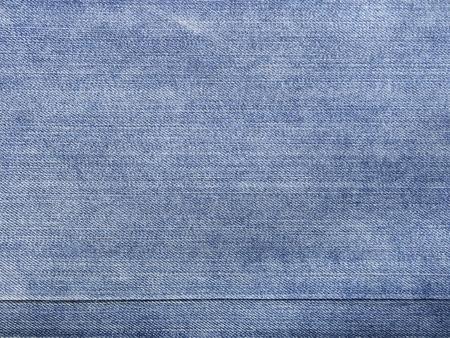 worn: Worn blue denim jeans texture, background Stock Photo