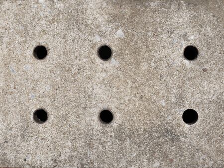 lid: Cement sewer lid background