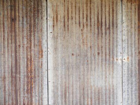 galvanized: Rusted galvanized iron plate