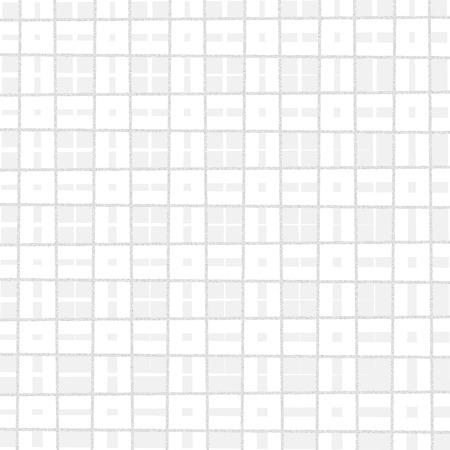 coarse: Square white pattern Stock Photo