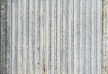 grooved: old zinc background texture,rusty corrugated iron metal texture Stock Photo
