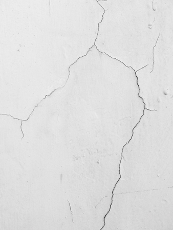 white wall with cracks Reklamní fotografie