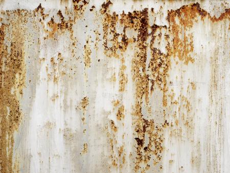 Iron surface rust Standard-Bild