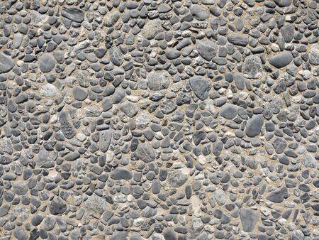 empedrado: antiguo camino pavimentado con adoquines de fondo