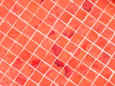 mosaic tiles: red mosaic tiles