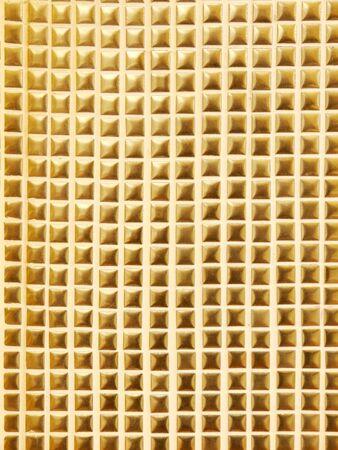 golden texture: golden mosaic texture