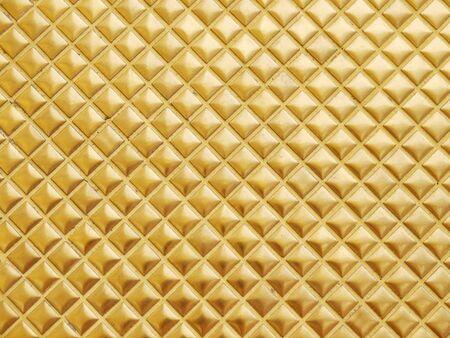 tile background: Golden tile background Stock Photo