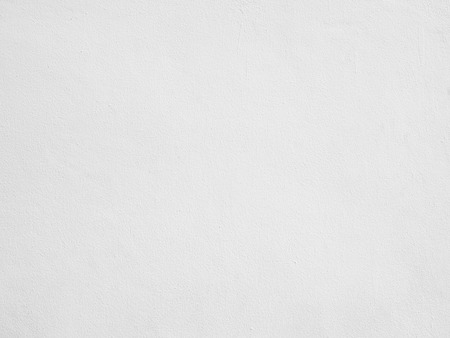 The white plastered wall texture background Stock Photo