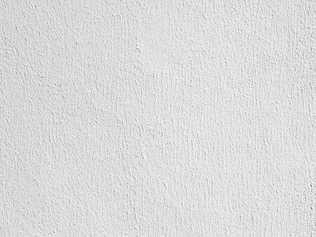 plastered wall: The white plastered wall texture background Stock Photo