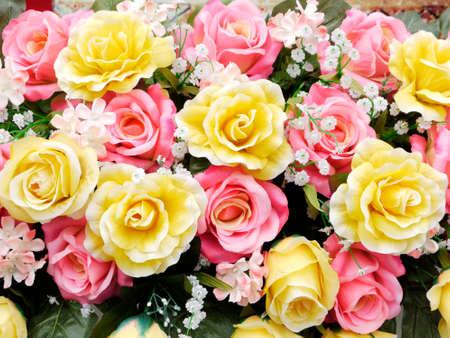 fake: Rose fake flower