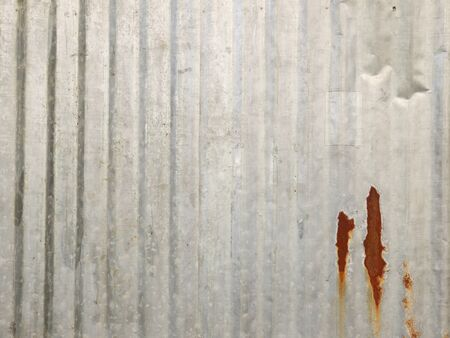 rusty fence: Old Texture and rusty zinc fence background