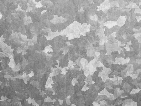 silver plated: old galvanized sheet