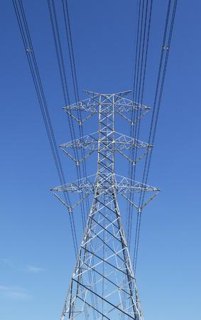 megawatts: power transmission tower
