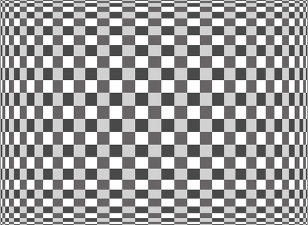 expanded: Expanded Optical Check Abstract checkerboard pattern in black and white will repeat seamlessly Stock Photo