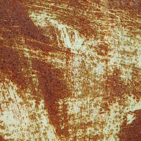 rusted: background of rusted metal and paint