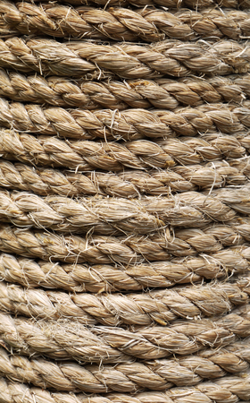 fixed line: Rough rope texture background