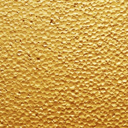 styrene: Gold plastic foam texture