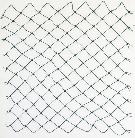 bretagne: Fishing net with space for text