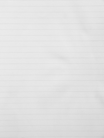 din: Blank white paper lined Stock Photo