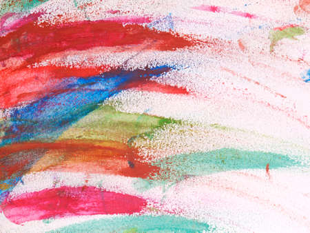 colors paint: Abstract beautiful paint with vibrant colors on paper background