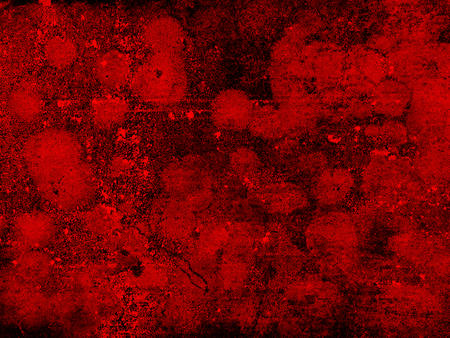 red wall: grunge red wall Stock Photo