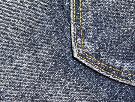 fib: blue jeans pocket closeup texture