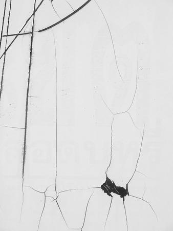 white background: broken glass white background