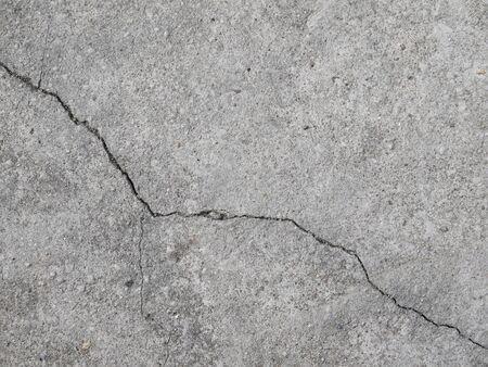 ravel: Cracked concrete floor texture closeup background
