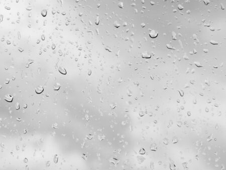 drops of water: Water drops on glass Stock Photo
