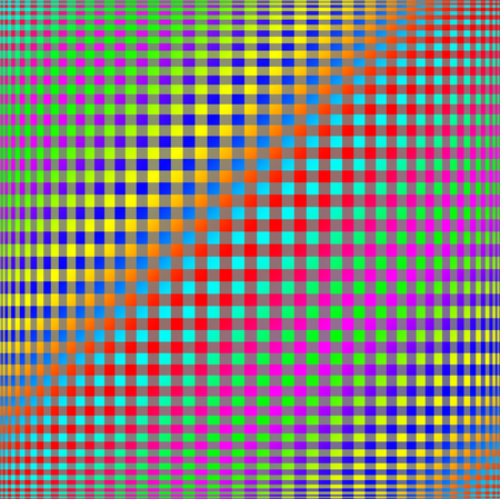 Abstract colorful checkered background