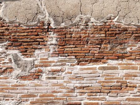 Ancient brick wall texture