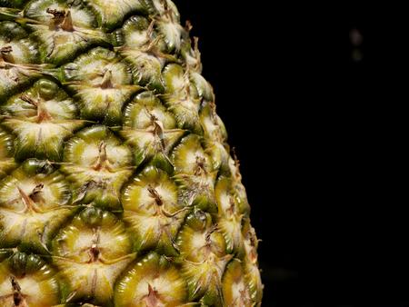 yellow ochre: Pineapple skin close up