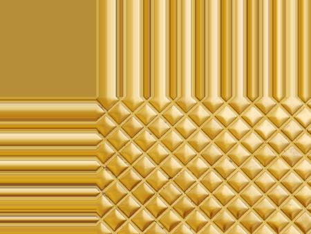 golden mosaic texture wall